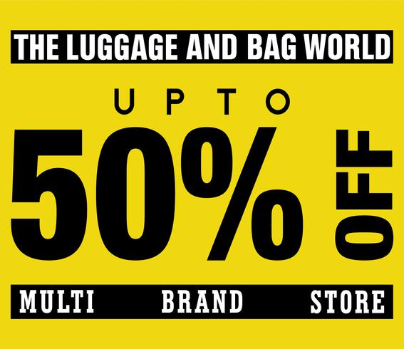 Multi Brand Store Sale Upto 50% Off Design Template