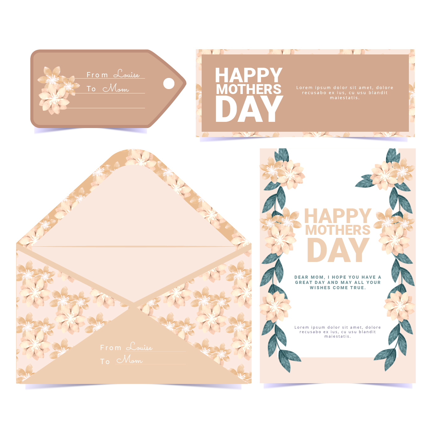Vector floral mothers day greeting card download free vector art vector floral mothers day greeting card download free vector art stock graphics images m4hsunfo