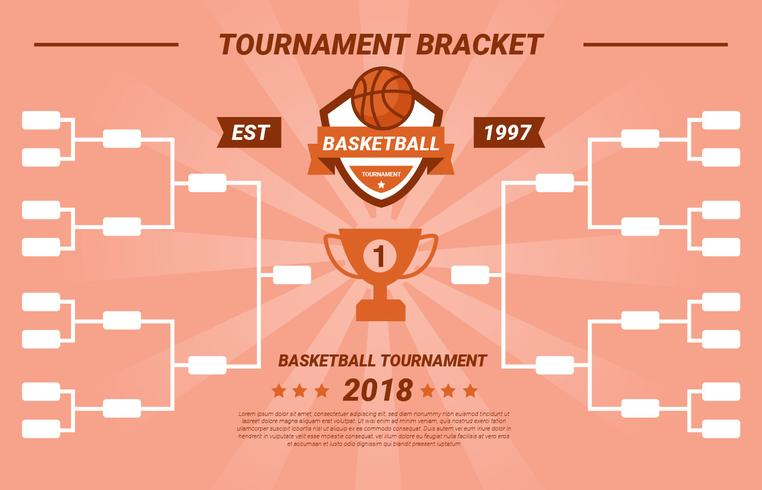 Tournament Bracket Vector Football américain