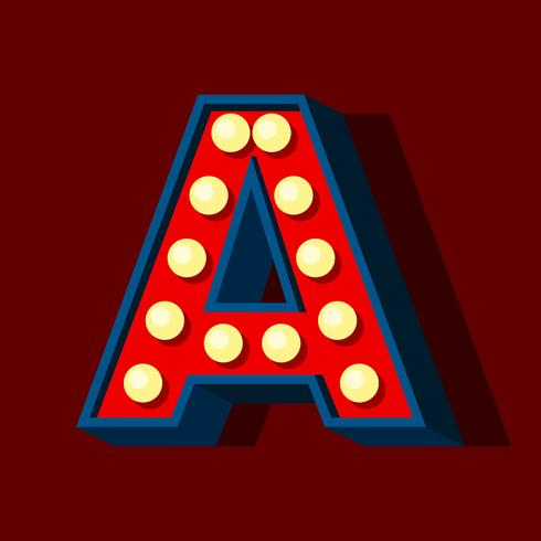 Letter A 3