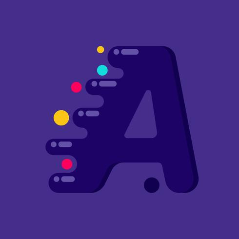 Letter A 2
