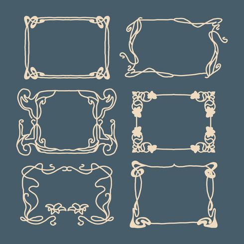 Cornici in stile Art Nouveau