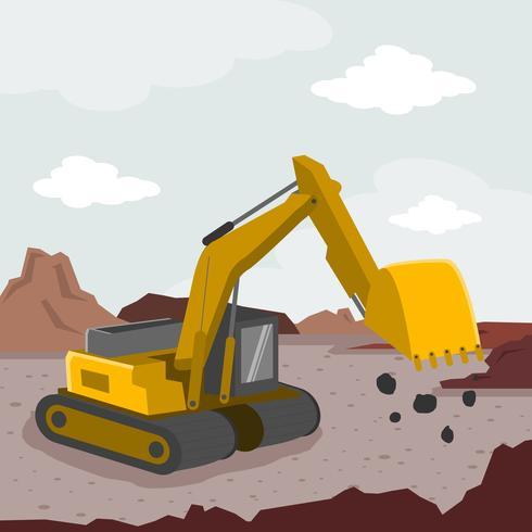 Ilustração de Demolição