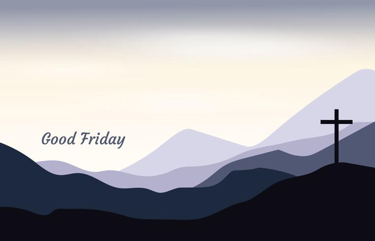 Good Friday Mountain Background