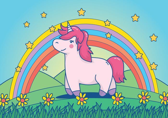Vector unicornio