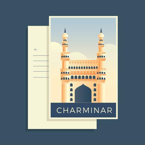 Charminar Postkarten der Welt