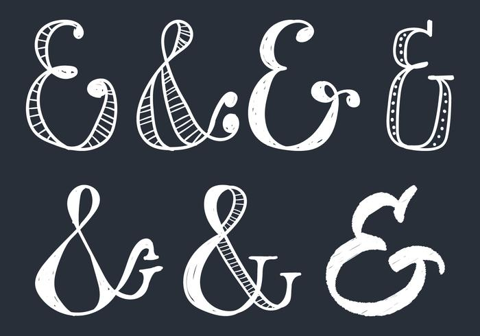 Ampersand Doodle Style