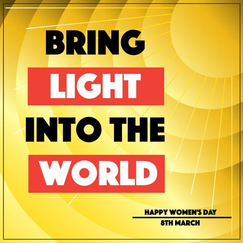Bring Light Into the World Vector