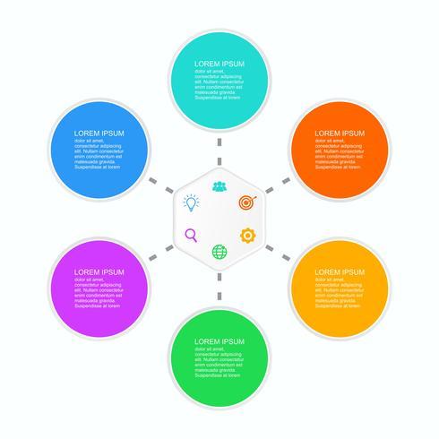 Abstrakte infographics Wahlschablonen-Vektorillustration, die Sie entsprechend Ihren Notwendigkeiten redigieren können 4