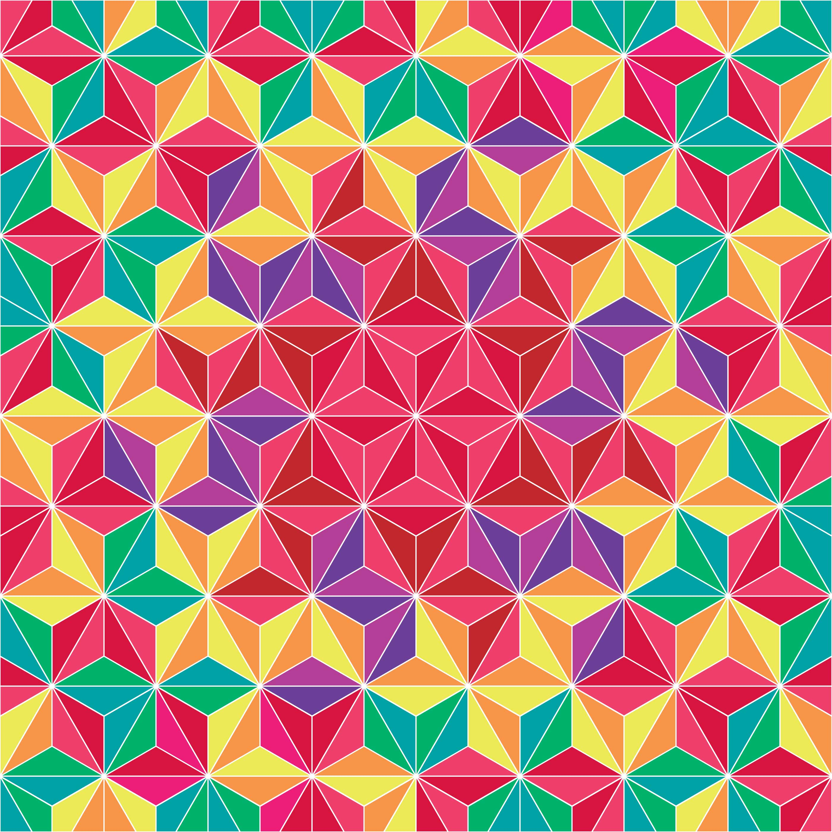 Colorful Triangle Geometric Pattern Background 194908