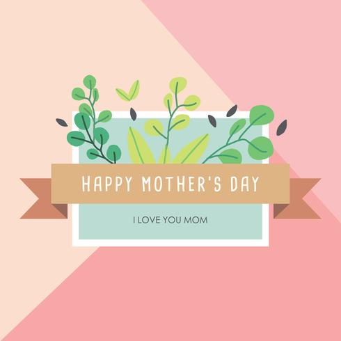 Delicate Card For Mother's Day