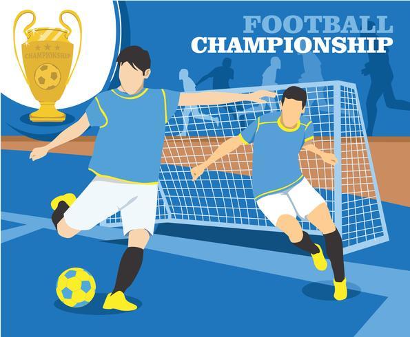Fußball-Meisterschaft-Vektor