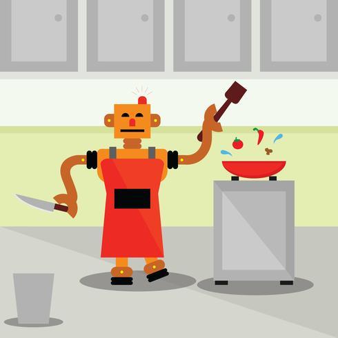 Un cuoco robot