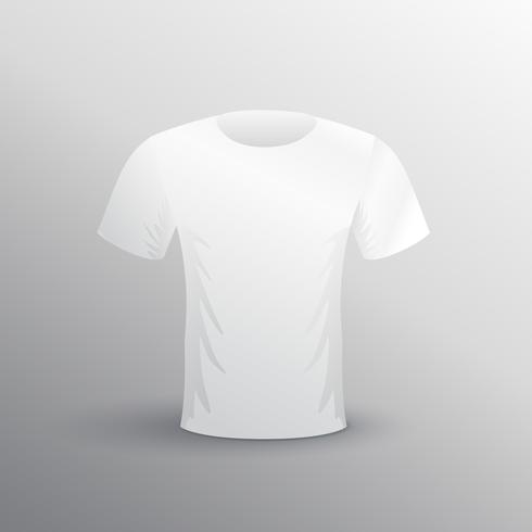 blank white t-shit mockup for advertising