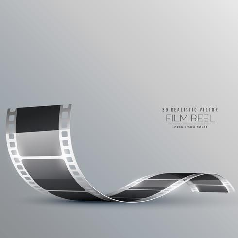 clean film strip vector background
