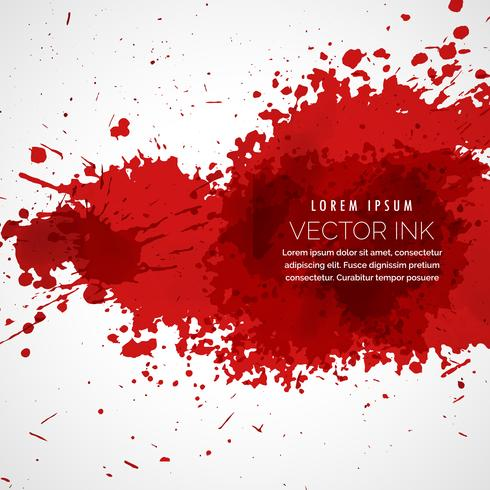 vector blood splatter stain background