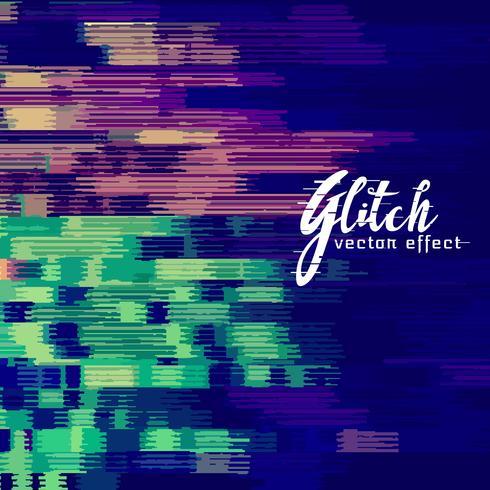 abstracte glitch achtergrond met vervormingseffect