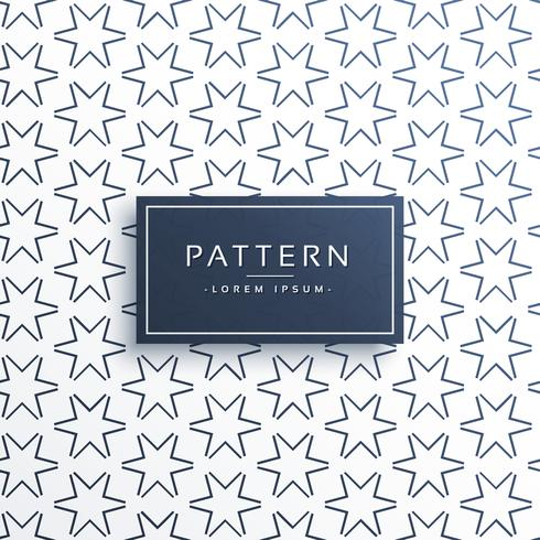 line star pattern background design
