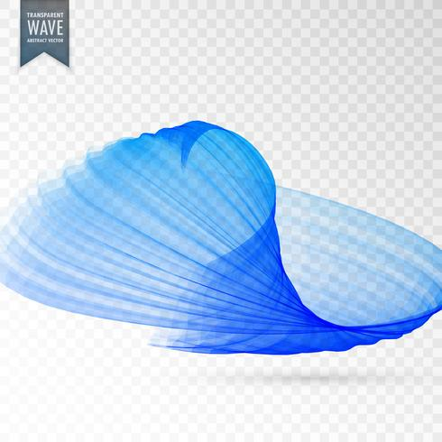 blue abstract wave design background