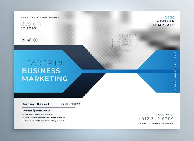 Stylish blue business flyer design presentation template download stylish blue business flyer design presentation template flashek Images