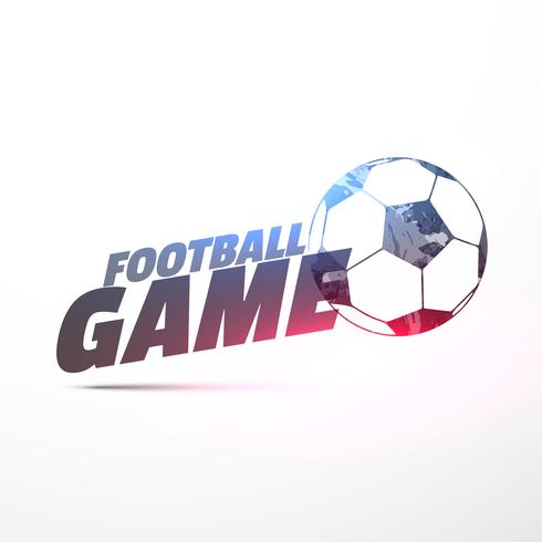 football game vector background with light effect