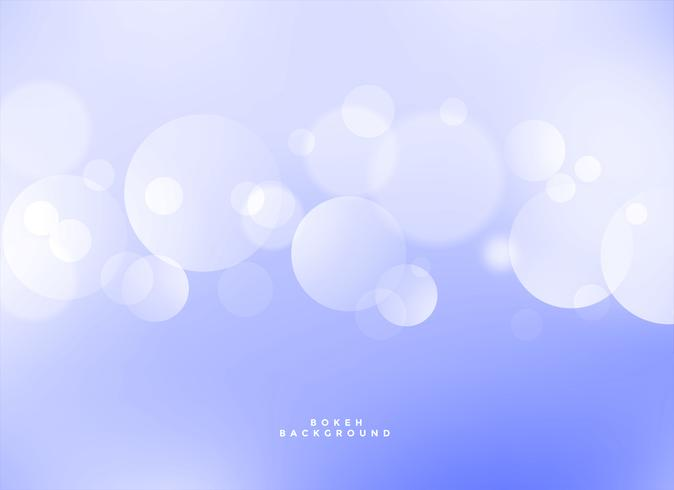 elegant blue bokeh light effect background