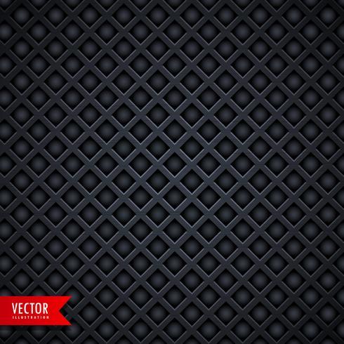 stijlvolle metalen textuur donkere achtergrond met gaten van de diamantvorm
