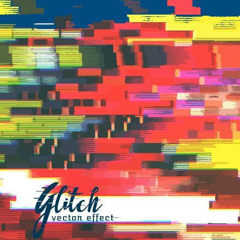 glitch failure corupt image background