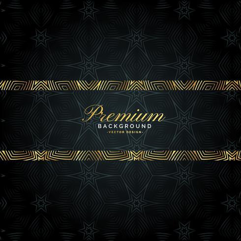 luxury premium golden background pattern design