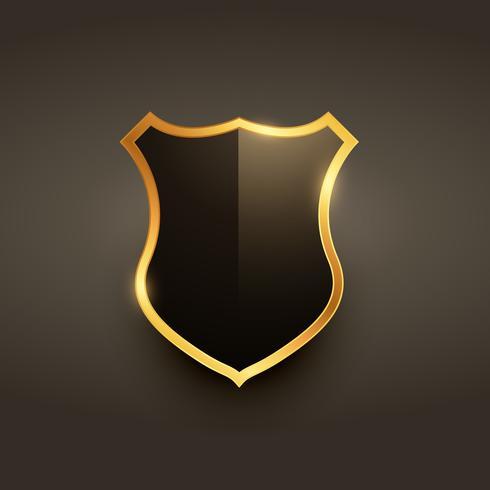 vetor de design de emblema de rótulo de distintivo de luxo