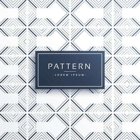 stylish geometric lines pattern vector