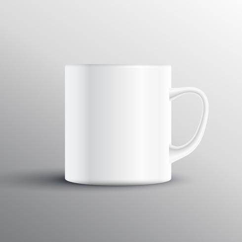 empty cup display mockup design