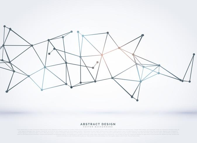 technology wireframe polygonal mesh abstract background