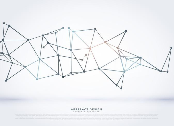 technologie draadframe veelhoekige mesh abstracte achtergrond