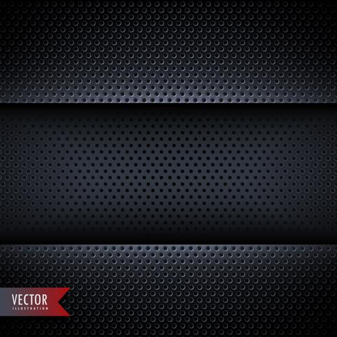 carbon metal background with small holes