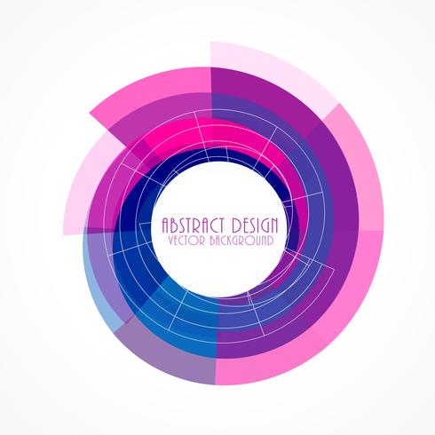 pink and blue abstract frame background