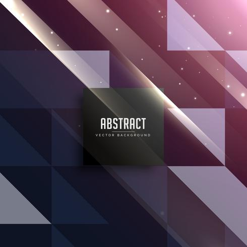 retro shiny triangles background design in dark style