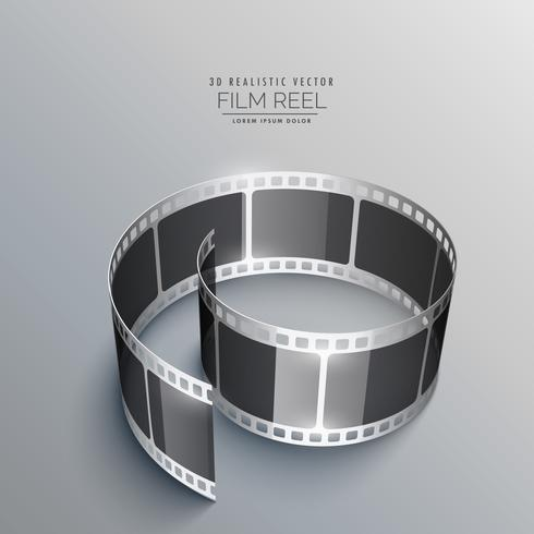 3d film strip design for camera