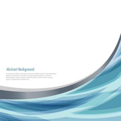 business background with abstract wave