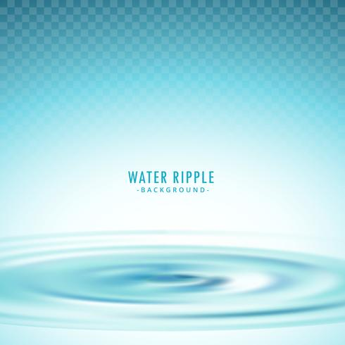 transparent water ripple vector background
