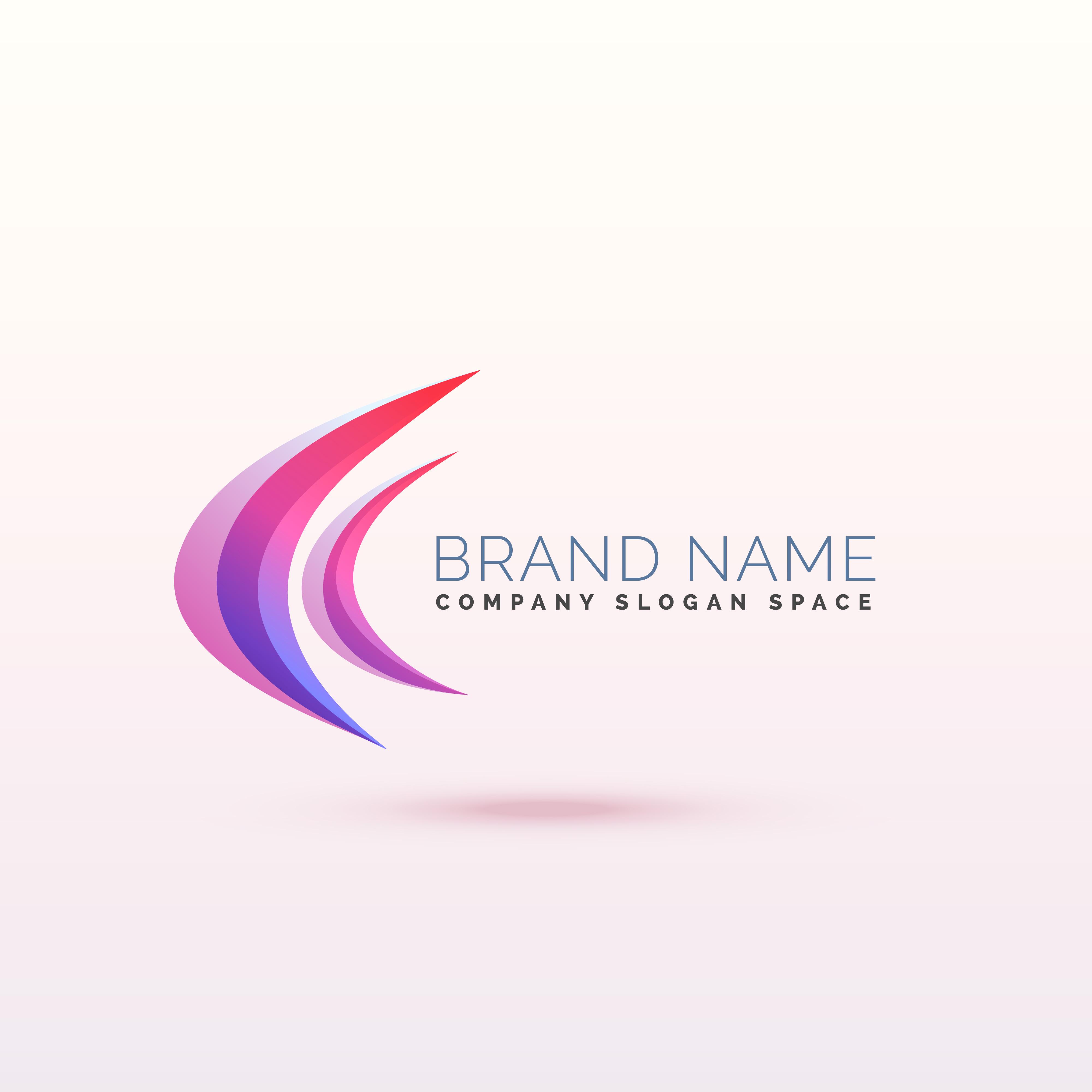 Abstract Curve Logo Concept Design