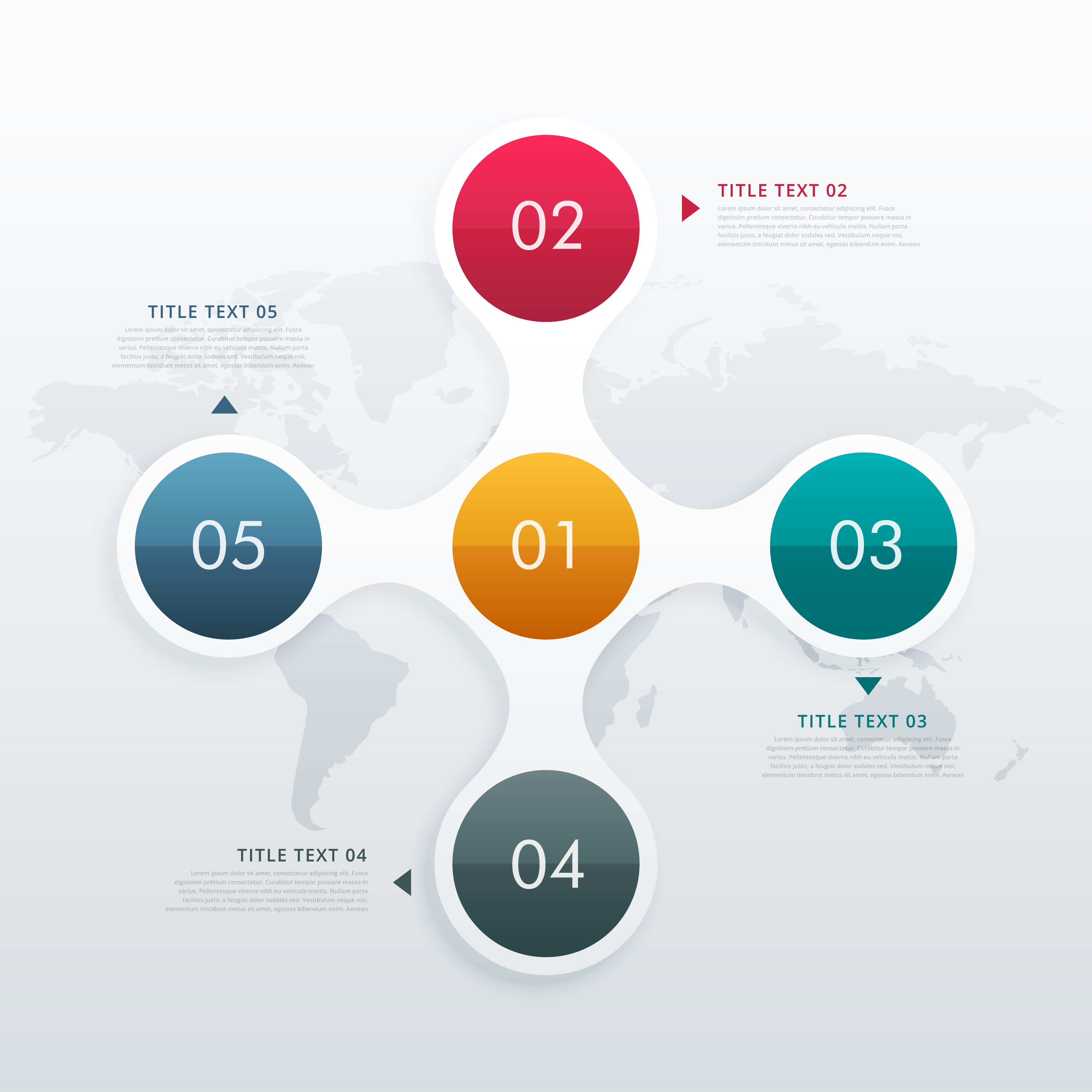 Free Circle Infographic Vector Download Free Vector Art Stock