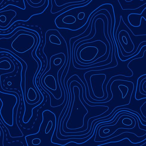 blue topographic contour lines background