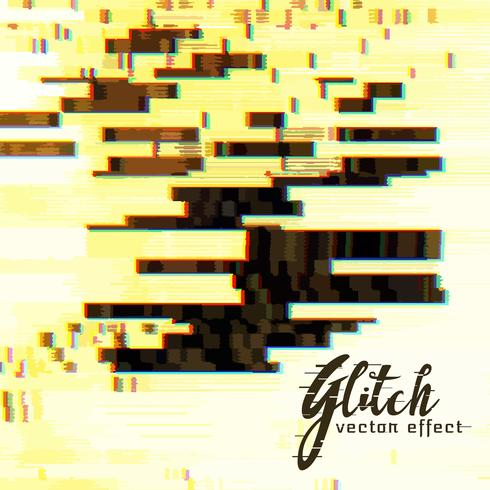 abstract vector glitch vector background