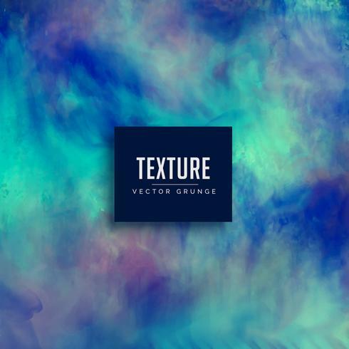 Fondo de textura grunge sucio azul hecho con acuarela