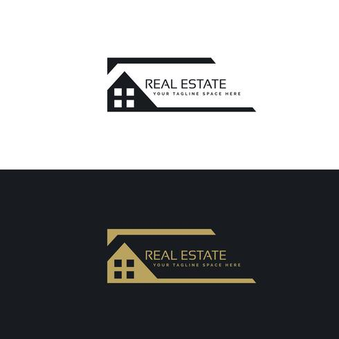 home or house logo design in creative style