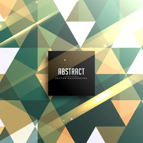 abstract vintage shiny geometric triangles background