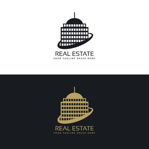 real estate business logo concept