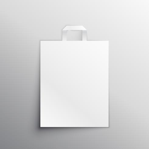 lege tas mockup display vector