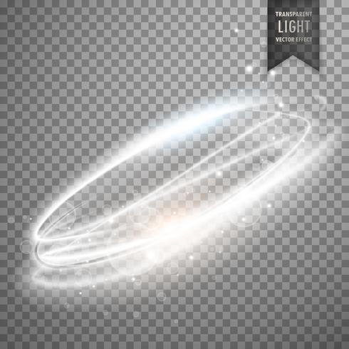 transparent light effect vector